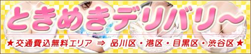 ◆ときめきデリバリー◆交通費込み80分総額16500円◆
